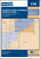 Imray C30 - Harwich to Hoek van Holland and Dover Strait
