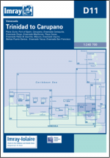 Imray D11 - Trinidad to Carupano