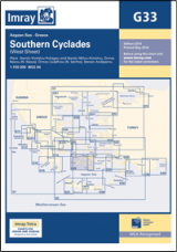 Imray G33 - Southern Cyclades (West Sheet)