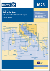 Imray M23 - Adriatic Sea Passage Chart